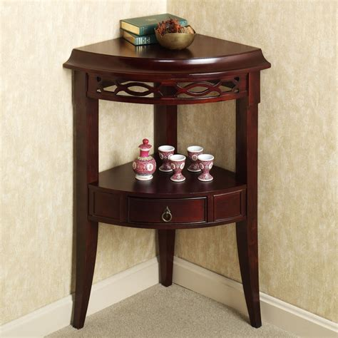 Small Corner Accent Table Small Corner Accent Table With Drawer Of Aruza Corner Accent Table Design For Corner Table With