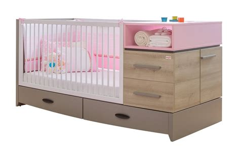 Cot With Drawer by Newjoy Pink Birdy Children S Large Extendible Cot