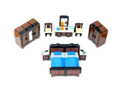 lego bed lego ideas minifig furniture bedroom