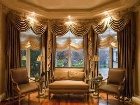 Living Room Curtains Brown Furniture Living Room With Window Treatment And Brown