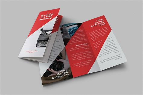 creative brochure template beautiful tri fold brochures brochure templates on