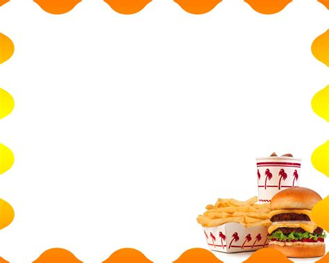 Free Hamburger Menu Backgrounds For Powerpoint Foods And Drinks Ppt Templates Fast Food Powerpoint Template