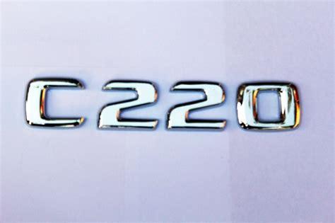 Tempelan Emblem Badge Mini Mercedes new mercedes c220 class badge letters emblem cdi avantgarde chrome ebay