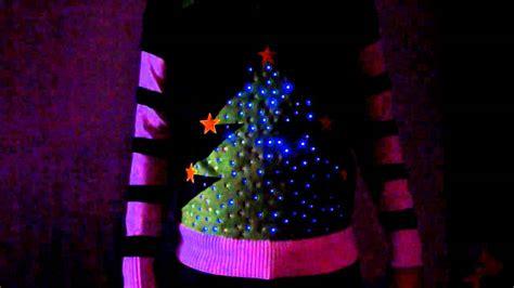 tree jumper with lights advert 2011 led light up tree jumper