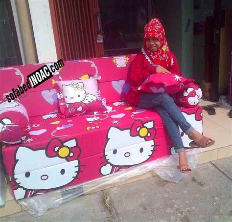 Sofa Anak Kartun sofabed inoac kartun hello merah spesialis sofabed