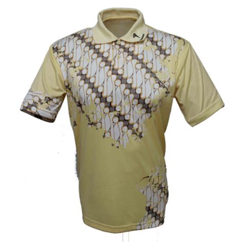 Baju Fly Power Bk Batik flypower polo bk yellow