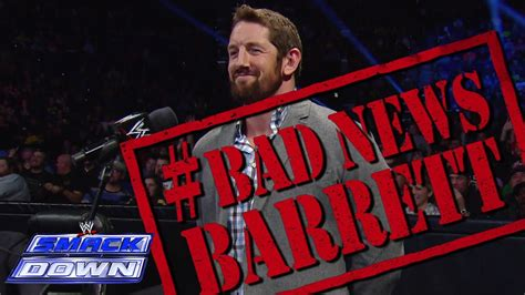 Bad News Barrett Meme - bad news barrett ruins tulsa s day smackdown dec 6