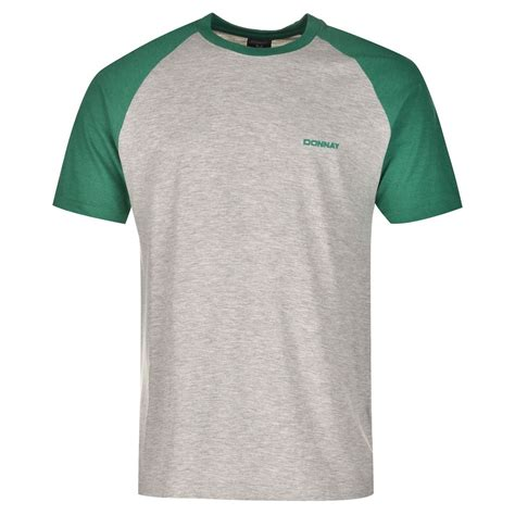 Kaos Tees T Shirt T Shirt donnay mens raglan t shirt sleeve casual everyday clothing ebay
