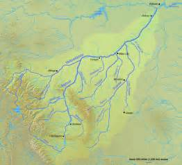 river map captures fragile of yellowstone river