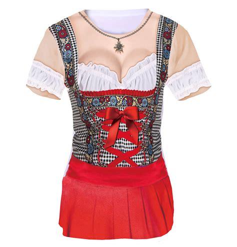 Wo Trägt Schleife Beim Dirndl by Shirt Dirndlshirt In Rot Koa S 252 Nd Fesch Frech