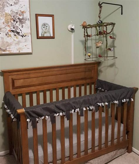 Diy Crib Rail Cover by Baby Crib Rail Cover Diy No Sew With Pictures