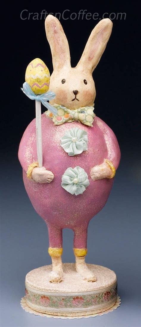 Paper Clay Crafts - 17 best images about vintage easter craft projects on
