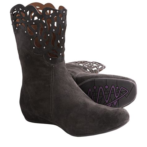 earthies boots earthies raaka boots suede for save 35