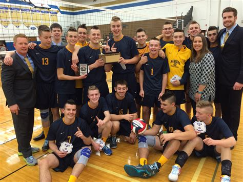 section v boys volleyball rangers win third volleyball crown westside news