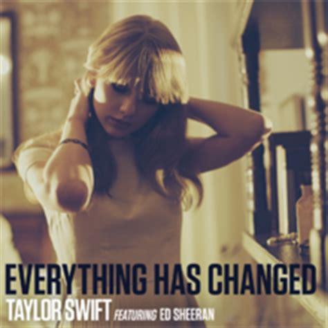download mp3 taylor swift feat ed sheeran everything has changed everything has changed wikipedia
