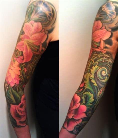 29 Japanese Full Sleeve Tattoos Japanese Floral Sleeve Tattoos