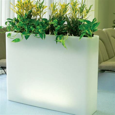 indoor planters serralunga vaso illuminated outdoor planter lighted planter homeinfatuation