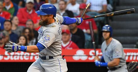 gordons  rbis    royals  swept  angels fox sports
