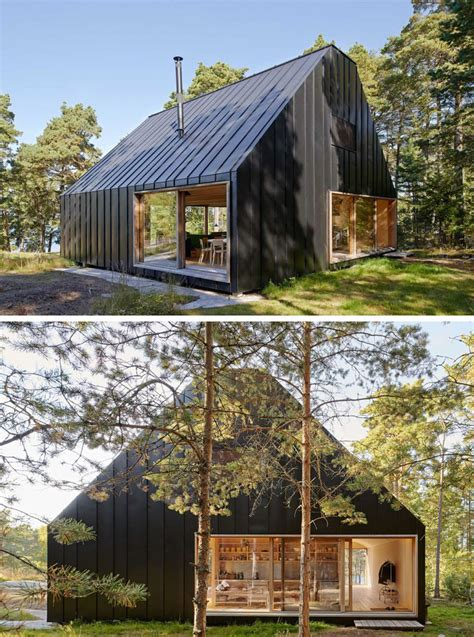 Barn Style Garage by 19 Examples Of Modern Scandinavian House Designs