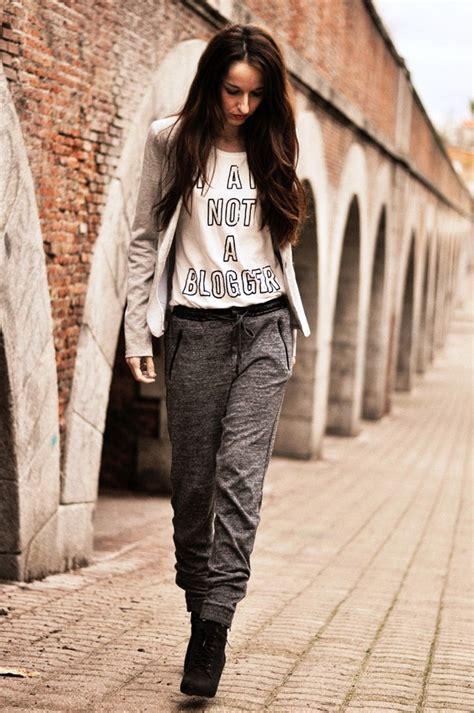 cute sweatpants outfit ideas  women