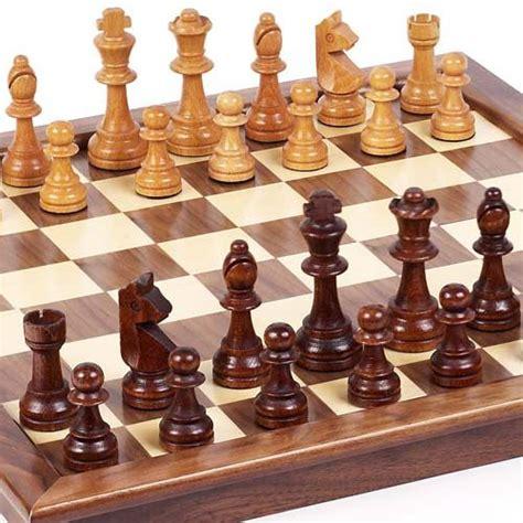 buy chess set best buy chess set grand street maple walnut tournament