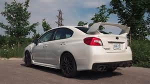White 2015 Subaru Wrx Review 2015 Subaru Wrx Sti Canadian Auto Review