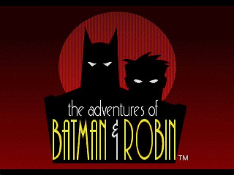 adventures of batman robin the usa rom