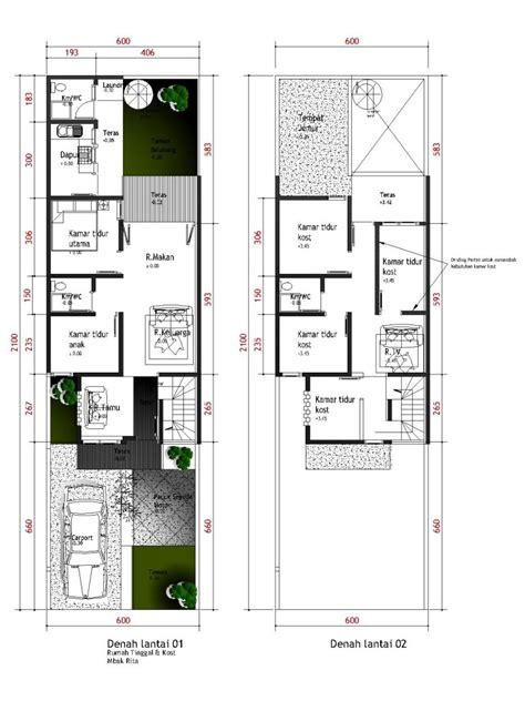 denah rumah minimalis berbagai model gambar desain rumah minimalis dan denah rumah minimalis
