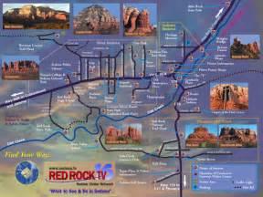 arizona travel map sedona tourist map sedona arizona mappery