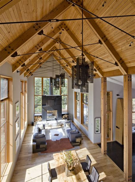 contemporary tahoe country house inspired