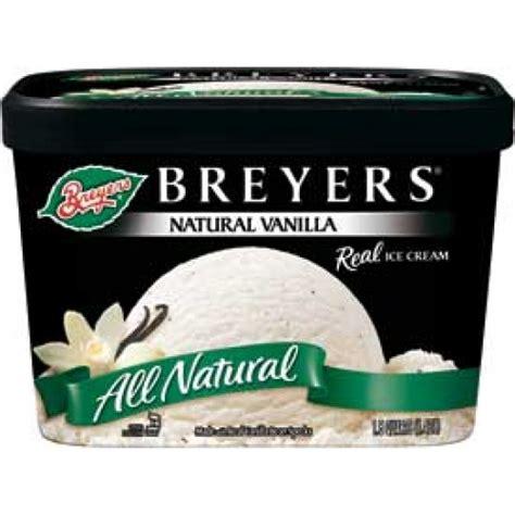 Vanilla Bean Cr 233 the gallery for gt breyers vanilla bean