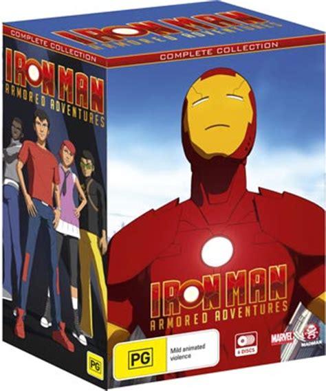 Iron Dvd Box Set Collection Koleksi iron armored adventures box set