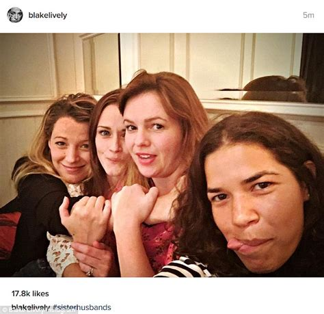 Friday Sisterhood Of The Traveling america ferrera and lively reunite with sisterhood