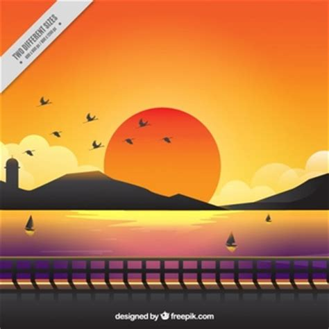 sunset vectors photos and psd files free download sunset vectors photos and psd files free download
