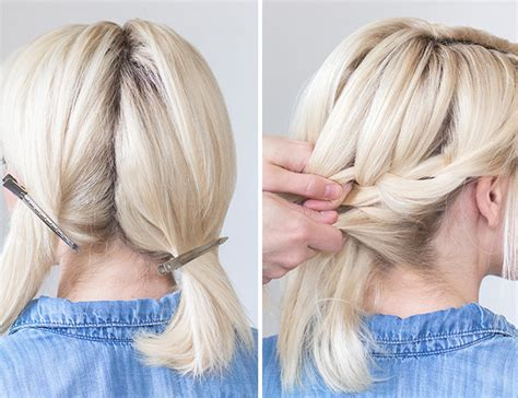 hairstyles to do self hair how to tucked braid updo inspired by this