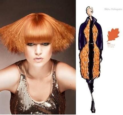 define warm colors pantone fashion colors helped define fashion hair