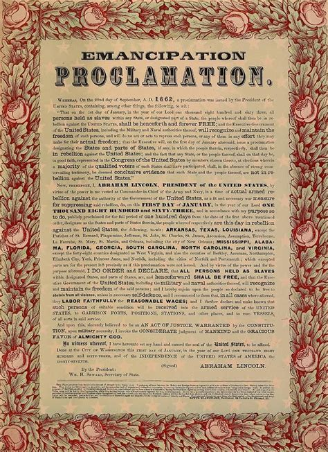 The Emancipation Proclamation Essay by Emancipation Proclamation And Gettysburg Address Essay