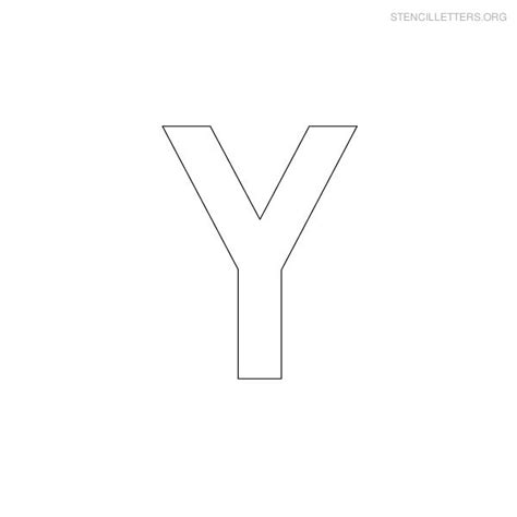 printing letter y 7 best images of printable block letters template y