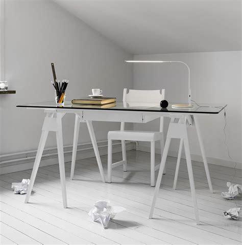 arco ufficio arco scrivania in legno piano in vetro 150 x 75 cm con