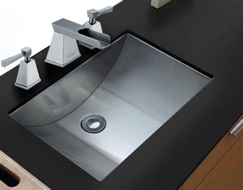 15 inch bathroom sink ruvati rvh6110 ariaso 21 x 15 inch brushed stainless steel