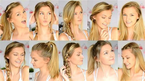 Hairstyles For Easy Back To School by 10 Easy Back To School Hairstyles