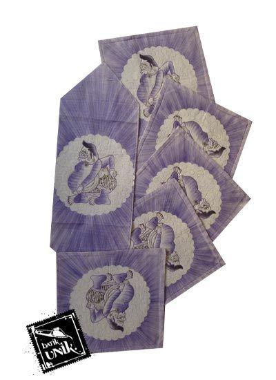Kaos Batik Wayang Warna 02 sarung bantal kursi batik motif batik lukis wayang set