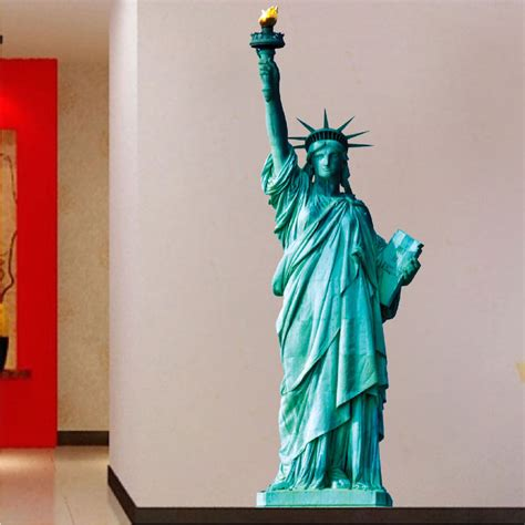 large wall mural decals statue of liberty wall mural decal large wall decal