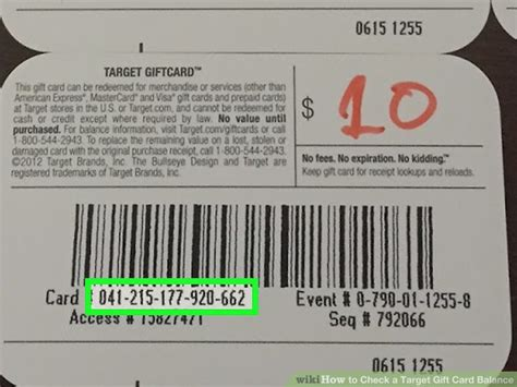 Target My Gift Card - how to check a target gift card balance 9 steps with pictures