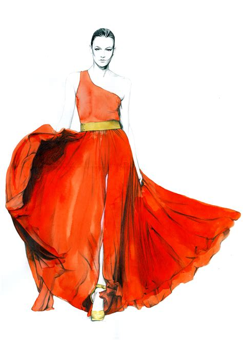 fashion illustration dress fashion illustrations cinzilicious