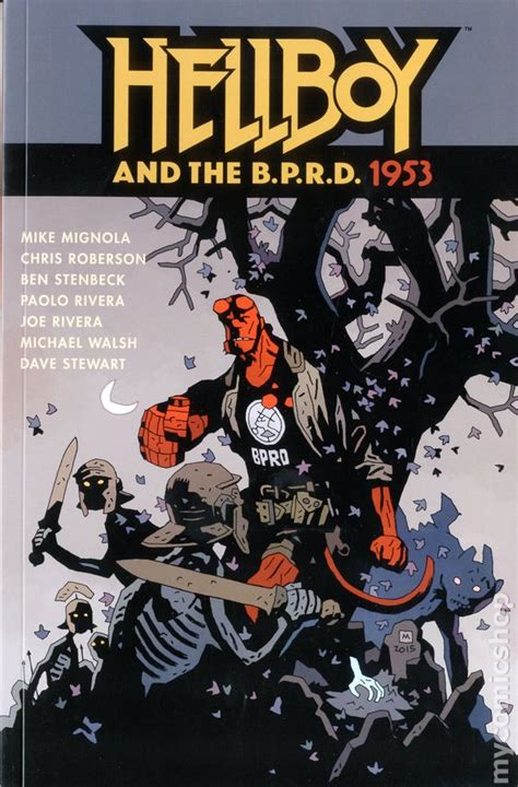 hellboy and the b p r d b01hbqbhm0 hellboy and the b p r d 1953 tpb 2016 dark horse comic books