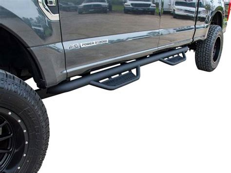 2008 Chevy Silverado 1500 N fab Black Podium Steps