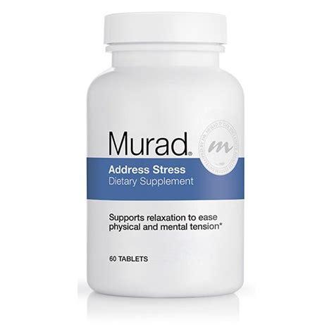 dietary supplement y murad address stress dietary supplement