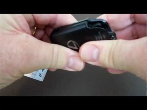change the battery in your lexus key fob how to save