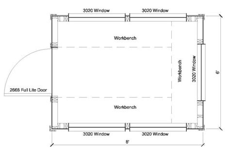 Greenhouse Floor Plan by 6x8 Greenhouse Shed Plans Storage Shed Plans